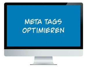 Meta Tags optimieren